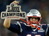New England Patriot Championship Football Jersey Patch 2019 Super Bowl Tom Brady