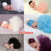 Flower Girl Princess Dress Kid Baby CuTE Party 0-3 Month Tulle Tutu Dresses TOP