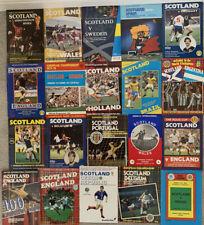 More details for 20 x scotland home programmes