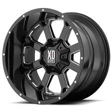 "20 Inch Black Wheels Rims LIFTED Dodge RAM 1500 Truck XD Series Buck 20x12"" 4"