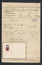 Prince Alexis Lobanov-Rostovsky Antique Calling Card Maison Stern 1907 Russia