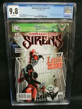 Gotham City Sirens #23 (2011) Beautiful Harley Quinn Cover CGC 9.8 CZ246