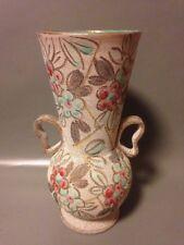 Large MID CENTURY ITALIAN CERAMIC VASE FRATELLI FANCIULLACCI studio art pottery