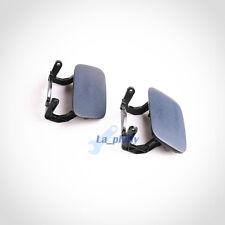 Pair Headlight Washer Sprayer Cap Cover Left &Light For AUDI A4 S4 2013-2015