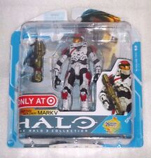 HALO 3 SERIES 7 MARK V SPARTAN SOLDIER TARGET EXCLUSIVE RARE MARK V RED WHITE