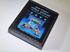 Video Pinball Error P Label Atari 2600 Video Game System