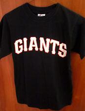 "SAN FRANCISCO GIANTS youth med black baseball jersey #8 Majestic kids ""Lizzie"""