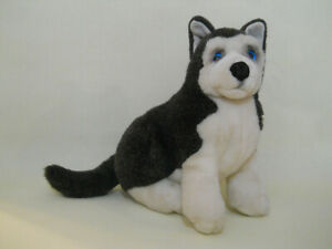 "Erskine Siberian Husky puppy dog plush stuffed 15"" REALISTIC Lou Rankin Applause"