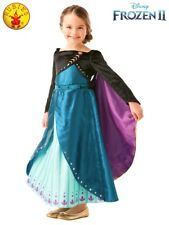 FROZEN 2 Queen Anna Frozen 2 Premium Girls Costume NEW | Child Size Sml 3-5  yrs