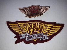 NEW Hells Angels Kent Custom Show 1993 Patch & Pin Badge - Bike Memorabilia