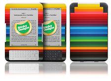 Amazon Kindle 3 - Bunte Bleistifte Vinyl Skin Aufkleber Hülle Abdeckung