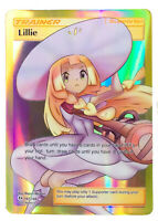 Lillie 147/149 Trainer Card Pokemon Collection Plastic Card Free 2 EX