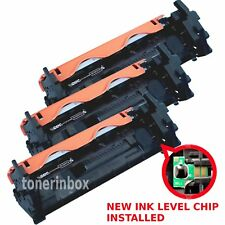 3pk CF217A 17A Toner Cartridge + Chip For HP LaserJet M102 M102a M130fn M130fw