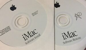 Apple OS 8.6 install/restore set for Early First Edition iMacs