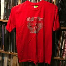 HIGH ON FIRE - Red Sword T-shirt - Size Small S - Stoner Doom Metal