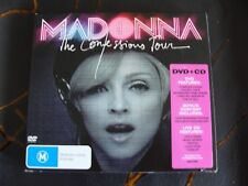 Slip Double: Madonna : The Confessions Tour : CD & DVD PAL Region Free