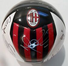 2015-16 AC Milan Team Signed Soccer Ball w/COA Futbol Premier League #1