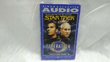 Star Trek Federation Novel - AutoBook  - 2 Cassettes - Read By Mark Leonard -