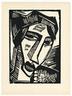 Karl Schmidt-Rottluff original woodcut - Deutsche Graphiker der Gegenwart - 1920