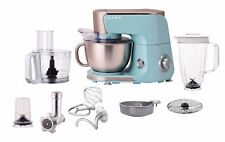 BERG 1000W 4L Electric 10-in-1 Stand Mixer Food  Multi Processor Blender - Blue