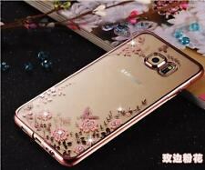 iPhone,Samsung,Xperia,Motorola CASE - CLEAR BLING Shockproof Silicone TPU Cover