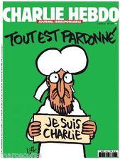 JE SUIS CHARLIE HEBDO Original French Special Edition EDIZIONE FRANCESE