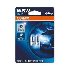 2xOsram W5W 12V Cool Blue Intense 4000K Sidelight Ampoules effet xénon