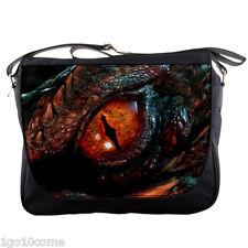 "The Hobbits SMAUG Dragon Eye Messenger Bags 14"" Textbook Notebook Laptops School"