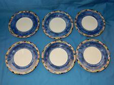 "Set of 6, 6 3/8"" Plates Fantasia PTS International Interiors"
