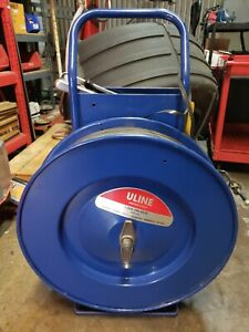 Pallet strapping cart ULINE strap