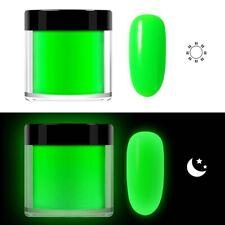 Glow In Dark Nails Art Dip Powder Acrylic Powder Dust Luminous Glitter Pigment