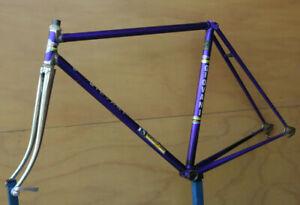 Vintage Belgian Giovani Reynolds 531 steel frame frameset Campagnolo 54cm