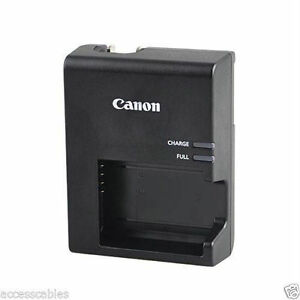 New Genuine Canon Battery Charger LC-E10, Fits Rebel T3/T5/T6/T7 LP-E10 Battery