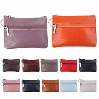 Fashion Men Women Leather Card Coin Key Holder Wallet Purse Purse Notecase Gift