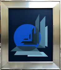 Bernard Jardel 1932-1984 Art Cinétique Composition abstraite Cosmogonie