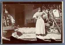 Espana, Una señora con un cántaro Vintage citrate print. Vintage Spain  Tirage