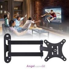 Full Motion TV Wall Mount Swivel Bracket 10-32'' Inch LED LCD Flat Screen #A
