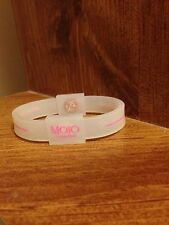 """7"""" Mojo Holographic Wristband CLEAR/PINK"""