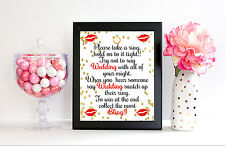 Please Take a Ring Game - Wedding Print Bridal Shower Print - 8x10