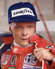 1976 Driver NIKI LAUDA Glossy 8x10 Photo U.S. Grand Prix East Poster Ferrari