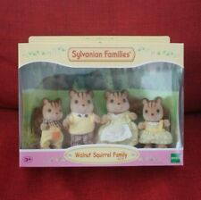 Sylvanian Families WALNUT SQUIRREL FAMILY 4172 Epoch Calico Critters