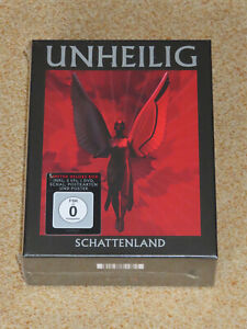 UNHEILIG SCHATTENLAND LIMITED DELUXE EDITION BOX OVP!