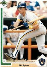 Bill Spiers Milwaukee / Clemson U Shortstop 1991 Upper Deck # 268 13 yrs in MLB