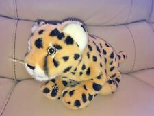 RARE & Collection officiel ANNA CLUB PLUSH WWF Leopard Beanie Soft Toy