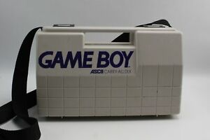 Vintage Nintendo Game Boy Cary Case In Great Condition ASCII Carry All DLX