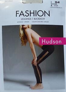 Hudson Leggings Fashion Lacercut, Leggings Opaque Matte S M L XL 38-46