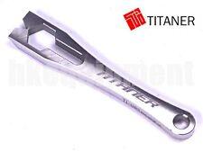 TITANER Titanium Keychain Wrecking Pinch Pry Bar Prybar GR5 Ti