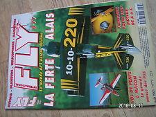 $$u Revue Fly International N°77 Plan encarte MB 05  Ferte Alais  vol de pente