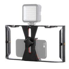 Video Stabilizer Rig Kamerakäfig Handheld Film Grip Stabilizer für Smartphone X0