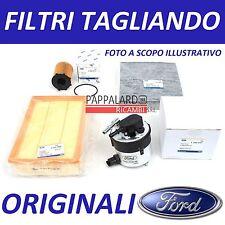 KIT TAGLIANDO 3 FILTRI ORIGINALI FORD FOCUS 2 II 1.6 TDCI 80KW 109CV 2008-2011